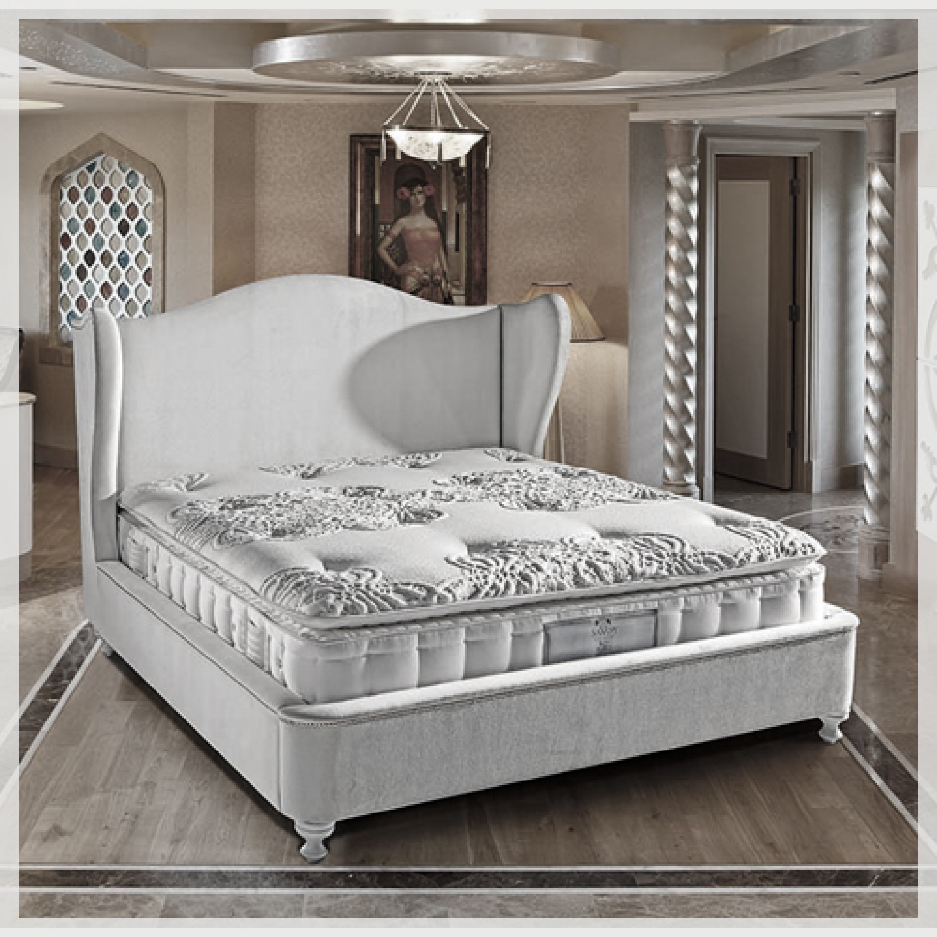 matelas savoy modulance. Black Bedroom Furniture Sets. Home Design Ideas
