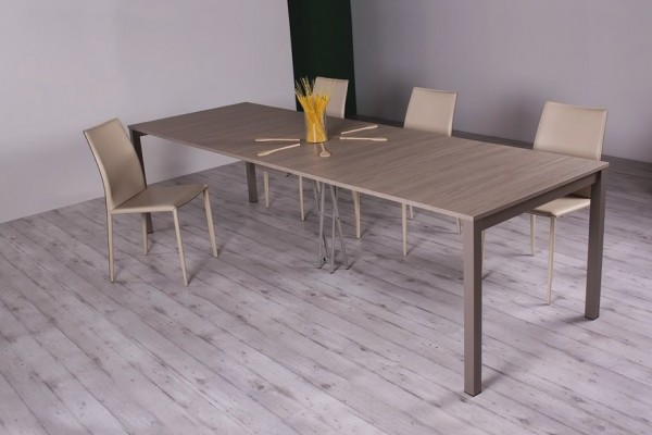 console transformable en table modulance. Black Bedroom Furniture Sets. Home Design Ideas
