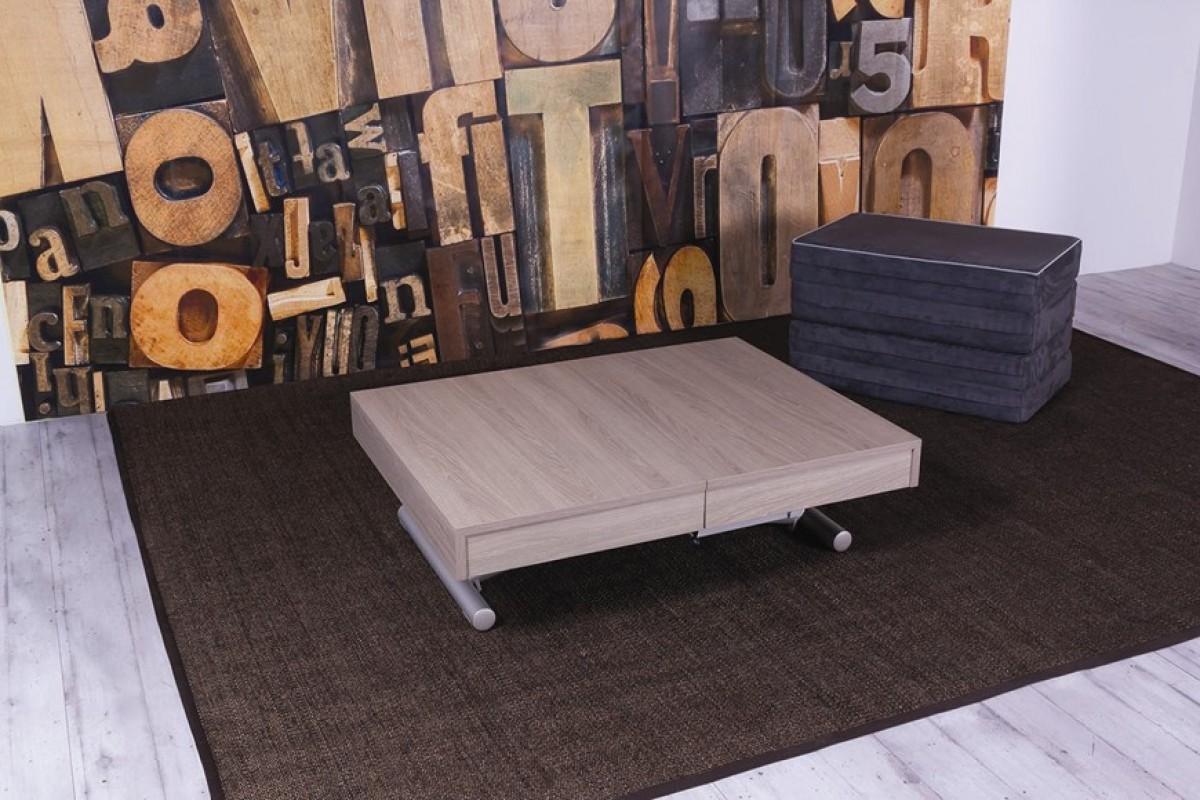 La table relevable qui se transforme en lit modulance for Bureau qui se transforme en lit