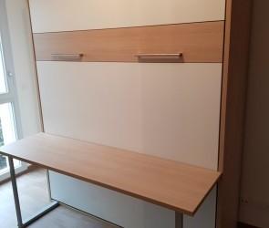 lit biblioth que modulance. Black Bedroom Furniture Sets. Home Design Ideas