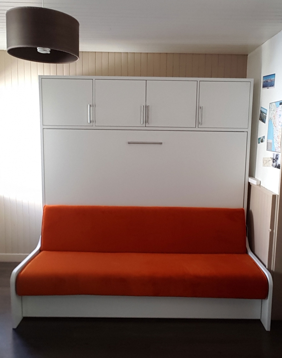 Lit escamotable transversal Premium Sofa