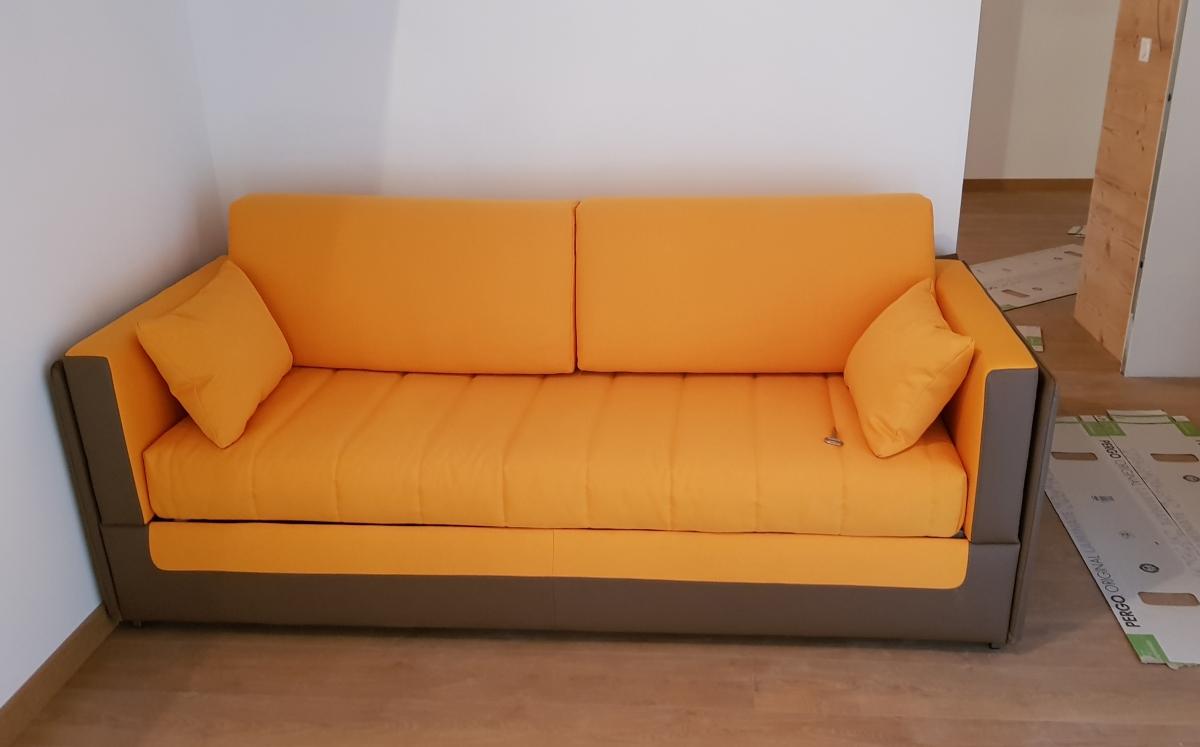 Canapé lit escamotable superposé Coupé